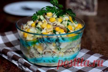 Зодиак – очень вкусный и простой в приготовлении салат, который украсит ваш стол на любой праздник.