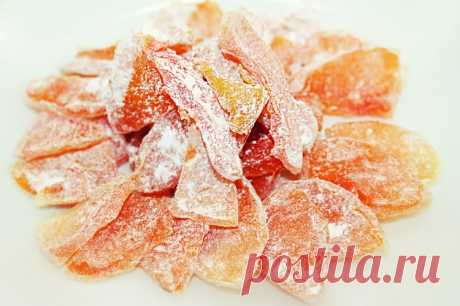 Candied fruits from pumpkin - Simple recipes of Овкусе.ру