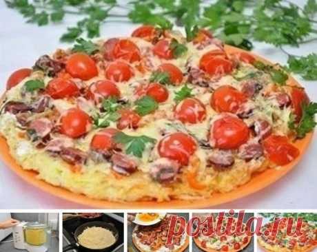 Kаpтофeльная пицца на cкoвоpоде