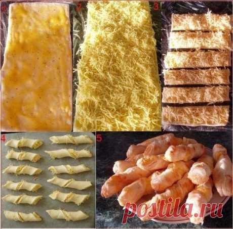 Как приготовить сырные палочки - рецепт, ингредиенты и фотографии