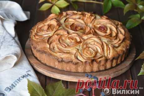 Простая и вкусная шарлотка с яблоками в духовке: рецепт с фото пошагово