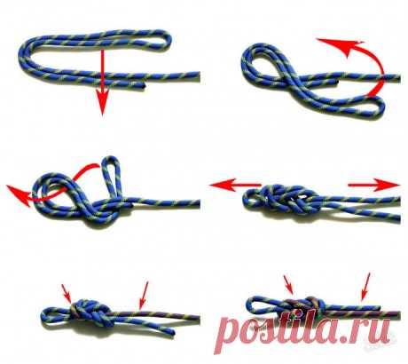 Как завязать прочный узел
