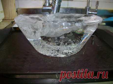 Делаем талую воду в домашних условиях..