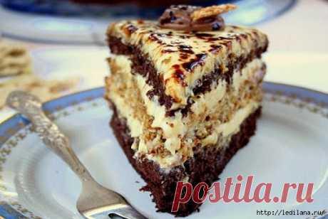 Торт «Халва» — торт с уникальным вкусом.