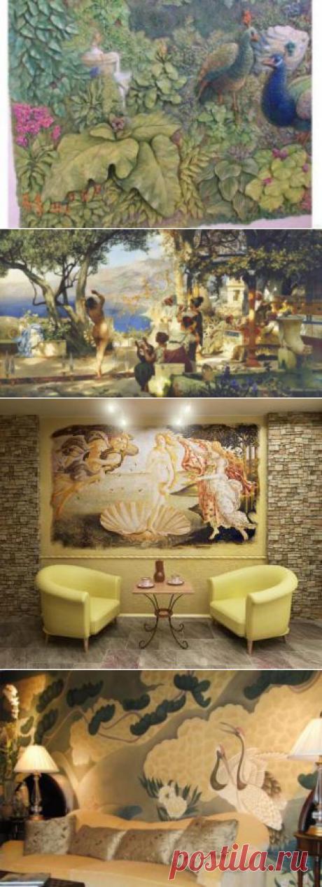 Декоративные фрески | Дизайн и отделка