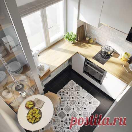 Как оформить маленькую квартиру: 10 ярких примеров   Свежие идеи дизайна интерьеров, декора, архитектуры на INMYROOM