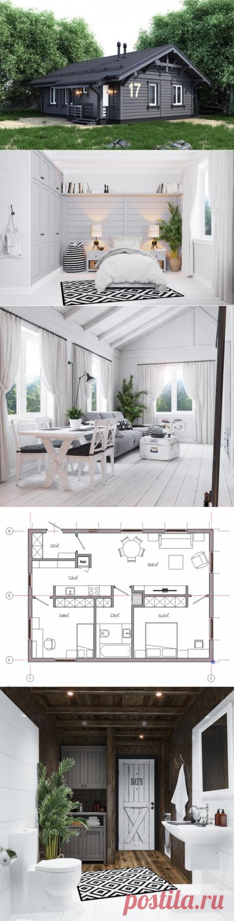 Можно ли построить дом за миллион: интересный проект | Свежие идеи дизайна интерьеров, декора, архитектуры на INMYROOM