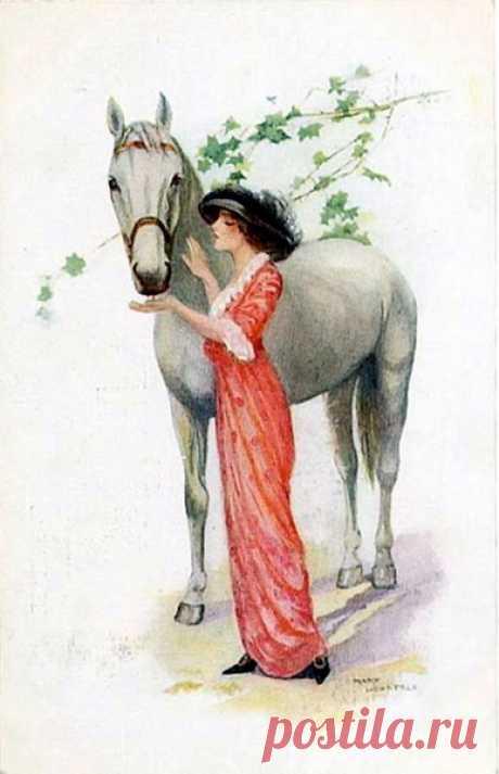 Лошади в изо, ч.6 – Блог. Run, пользователь Марина Николаева   Группы Мой Мир