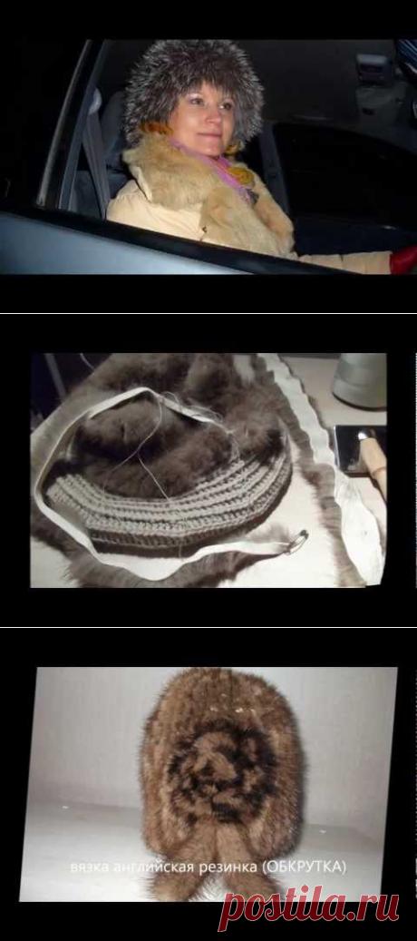 Вязание из меха.Видео.