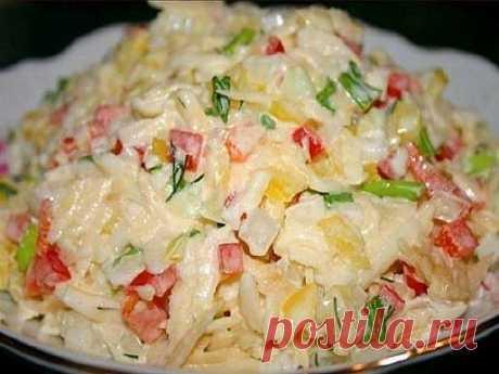 Очень вкусные салатики