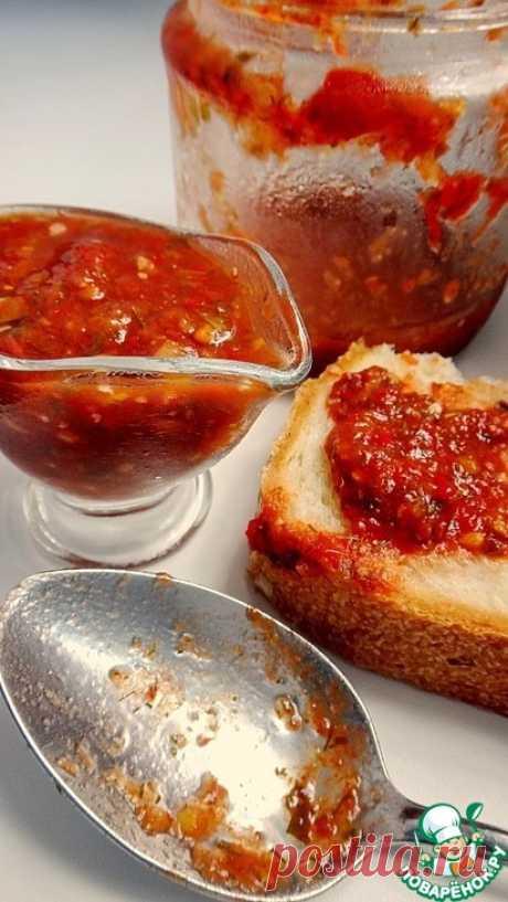 """Универсальный томатный соус """"Сацебели"""" - кулинарный рецепт"""