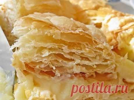Торт «Наполеон» с апельсиновым кремом, пошаговый рецепт с фотографиями – выпечка и десерты. «Еда»