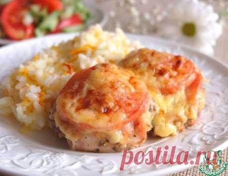 Куриные бедра под сырной шапкой – кулинарный рецепт