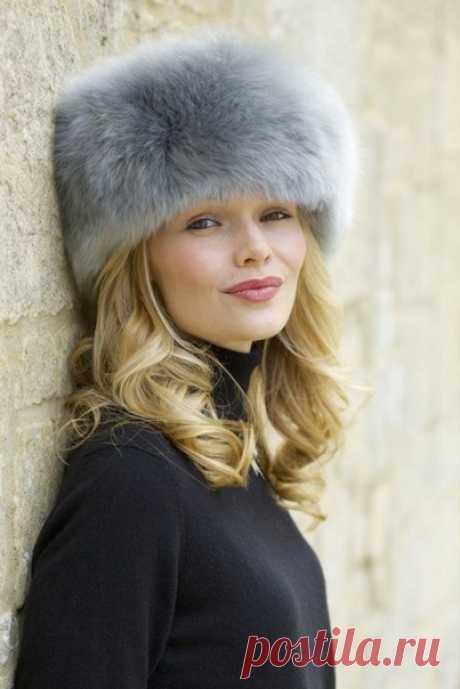 Теплые меховые шапки. Большая подборка выкроек и идеи