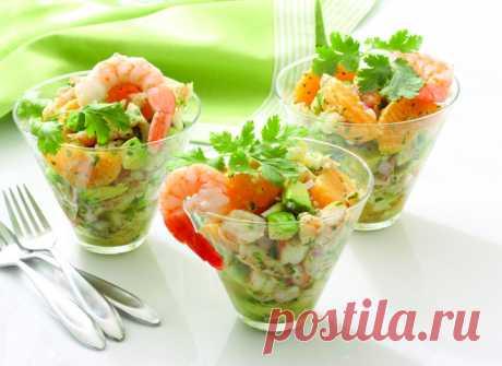 Салат из креветок: два вкусных рецепта - tochka.net