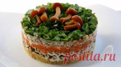 Изумительный постный слоеный салат: съедается моментально - fav0ritka77.ru