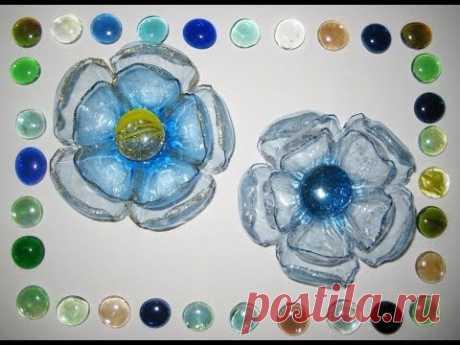 DIY Цветы из пластиковых бутылок. Мастер-класс \ Flowers from plastic bottles \ Handmade