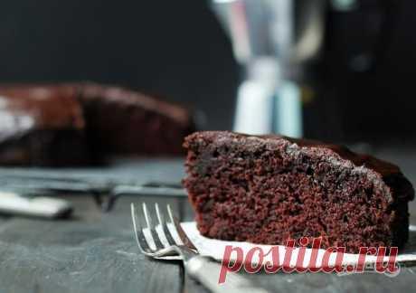 Шоколадный пирог без яиц - пошаговый рецепт с фото на Повар.ру