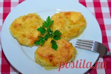 Potato under cheese