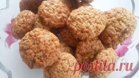 Овсяное печенье быстрого приготовления - Простые рецепты Овкусе.ру