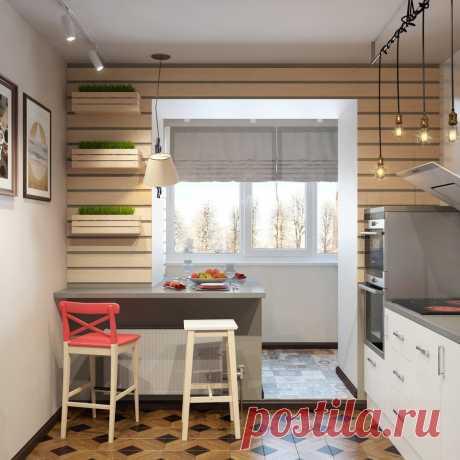 Как увеличить площадь кухни: классный проект в Сургуте | Свежие идеи дизайна интерьеров, декора, архитектуры на INMYROOM