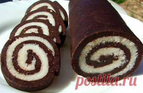 Десерт Баунти (без выпечки) | Raznosole.com
