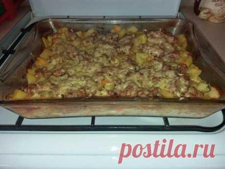 """""""Слоеный картофель в духовке"""" - рецепт, от которого не могут не потечь слюнки!"""