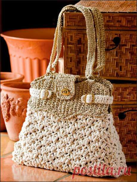 Вязаные сумки - идеи | Домашний hand-made