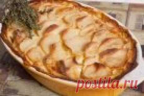 Гратен из картофеля с фаршем - рецепт с фото на Повар.ру