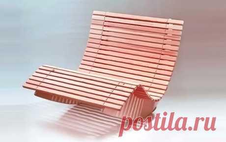 Кресло-качалка своими руками: мастер-класс, чертежи и размеры