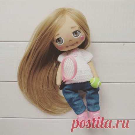 "Текстильная кукла ""Принцесса"" - Кукольная мастерскаяКукольная мастерская"