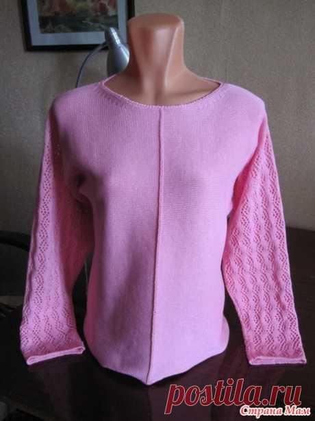 . Летние кофточки из хлопка - Машинное вязание - Страна Мам
