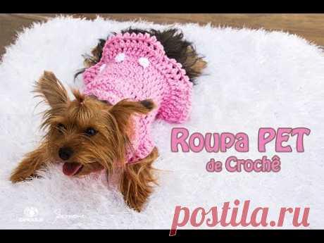 Roupa PET Crochê - Professora Simone Eleotério