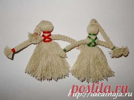Кукла оберег из ниток своими руками