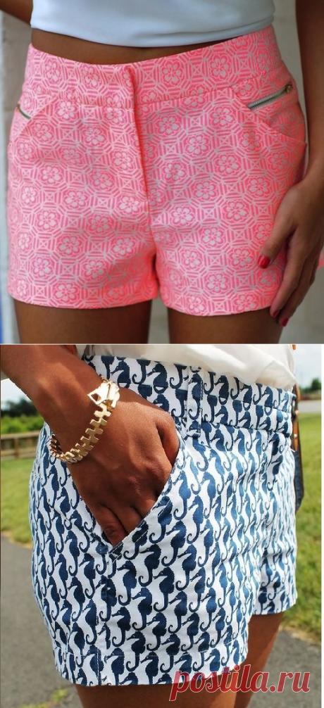Женские шорты — выкройка (Шитье и крой)   Журнал Вдохновение Рукодельницы