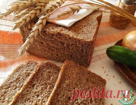 """Дарницкий хлеб """" как в магазине"""" – кулинарный рецепт"""