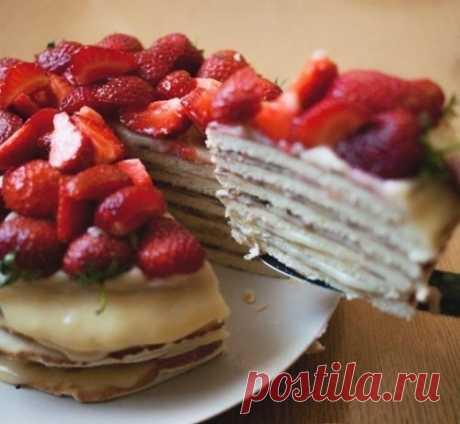 Как приготовить торт творожный на сковороде - рецепт, ингредиенты и фотографии