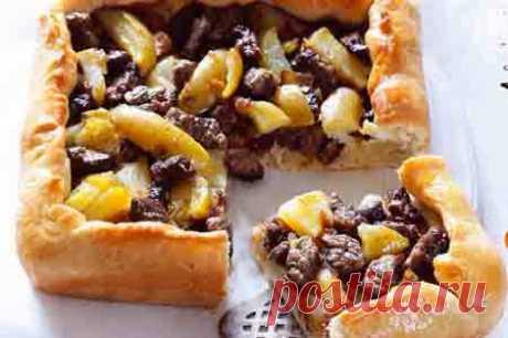 Пирог с картофелем и говядиной - Кулинарная книга