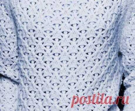 Необычный узор для вязания спицами - запись пользователя Марина в сообществе Вязание спицами в категории Вязание спицами для начинающих