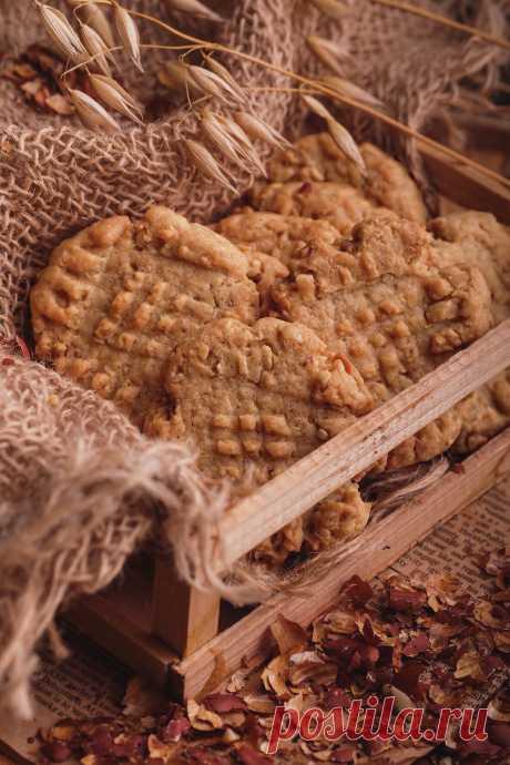 Арахисовое печенье (без пасты) — Изящество кулинарии
