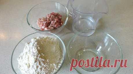 Быстрые лепешки с мясом / альтернатива чебурекам – пошаговый рецепт с фотографиями