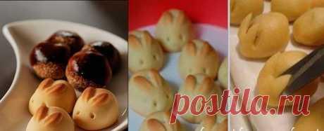 Пасхальные зайцы рецепт | Самые вкусные кулинарные рецепты