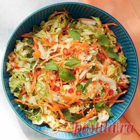 Еда безизлишеств: витаминные илёгкие рецепты скапустой
