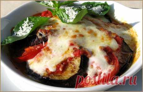Вкусный итальянский салат с баклажанами: «Пармиджано» — Готовим дома