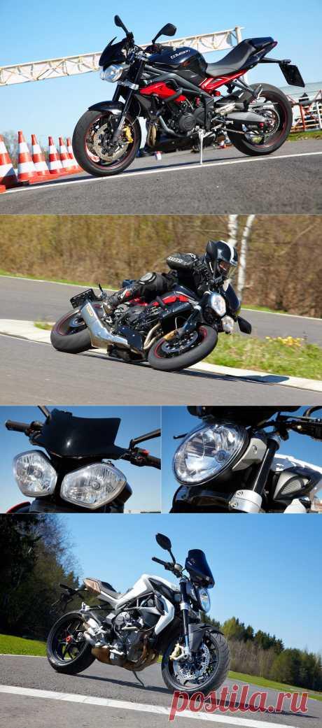 Bikers Life - Triumph Street Triple R и MV Agusta Brutale 675 EAS