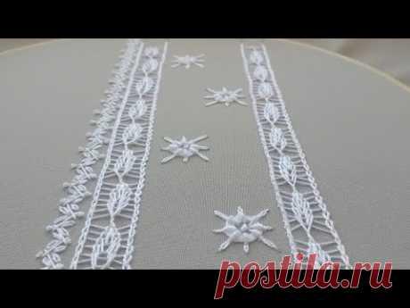 Romanian White Lace | Стежки для румынского кружева