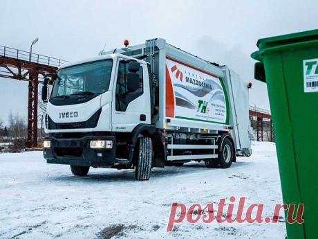 Iveco и «ТК Лифт» создали 2 новых мусоровоза на шасси Eurocargo — Kovsh.dp.ua