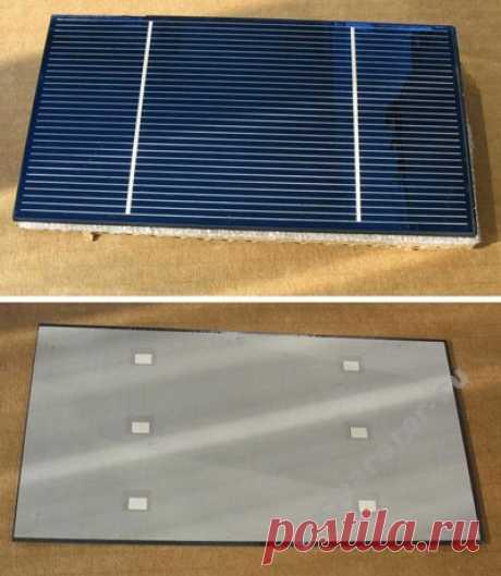 Гермаратор » Самодельная солнечная батарея на 50 Вт