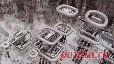 The towers Tesla disappearing in a jungle of the woods of Moscow area. Russia and society. Articles www.ecosever.ru