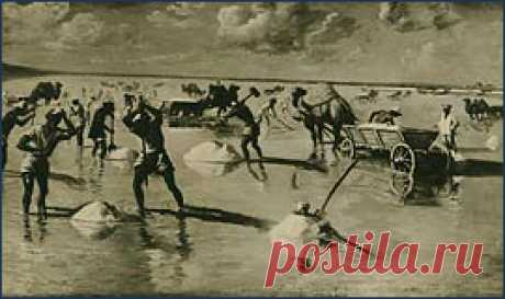 Аналог Мёртвого моря в России - озеро Баскунчак и гора Большое Богдо. - Садоводка
